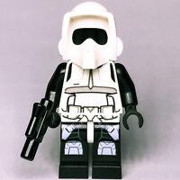 STAR WARS lego IMPERIAL SCOUT TROOPER stormtrooper ROTJ 75023 10236 new GENUINE