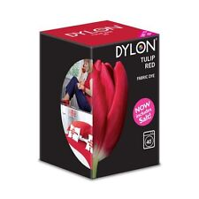 DYLON Tulip Red Machine Dye 350ml New Formulation Includes Salt!