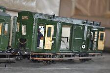 """3,5 """" Zoll Abteilwagen 80 cm lang Gepäck  Metallmodell Einzelstück siehe Fotos"""