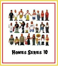 Homies series 10 -  24 different figures,  great for 1:32 dioramas HTF ( loose )