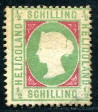HELGOLAND 1869 6xa ungummiert geprüft 180€(D5831