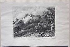 1838 CHATEAU LOUCHY MONTFAND Villeneuve Allier Desrosiers Moulins Saint-Pourçain