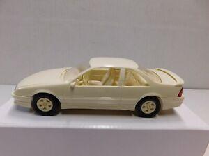 1990 BERETTA GTZ IN WHITE PROMO MODEL 1.24 PLASTIC