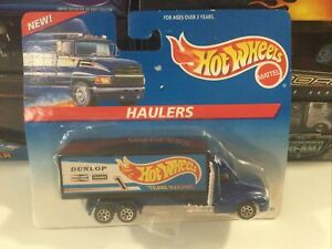 Hot Wheels Team Racing Hauler #65743, Dunlop HW Racing Tampo MIP