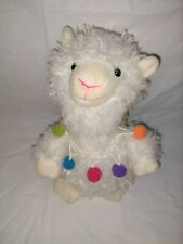 Speak And Repeat Talking Plush Llama By Two's Company