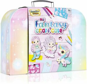 KreativeKraft Art Sets For Girls With Unicorn Stickers, Arts and Crafts For Kids