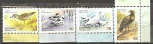 Belarus: full set 4 mint stamps, Rare Birds of Belarus, 2000, Mi#363-6, MNH.