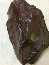 """Red Jasper Rock with Ryolite 21oz -168 Drams 6"""" Across From Central Oregon Dig"""