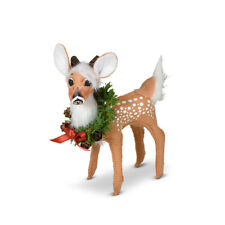 Annalee Dolls 2021 Christmas 5in Holiday Cheer Fawn Plush New with Tag