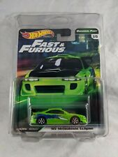 Hot Wheels Fast & Furious Premium - 1995 Mitsubishi Eclipse with protector