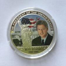 US 42th President Bill Clinton Eagle Commemorative Coin Make America Great Again