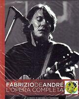 Cd + Dvd FABRIZIO DE ANDRE' 14 ♦ IL PESCATORE UNA STORIA SBAGLIATA + IL CONCERTO