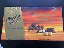 Hawaiian Host Aloha Gems Chocolate Covered Premium Whole Macadamias 16 OZ