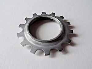 *NOS Vintage 1980s Campagnolo F14 Aluminium 14t freewheel cassette lock Cog*