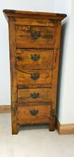 chest of drawers in solid eastern hardwood. Five sturdy dovetail jointed drawers