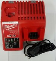 EUROPEAN MILWAUKEE M12 M18 12V 18V BATTERY CHARGER AC 220V  TYPE C PLUG 48-1959
