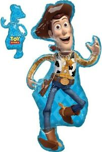 Toy Story 4 Woody Large Foil Balloon 44 inch Tall Birthday Party Helium Or Air