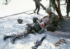 Photo. 1968.  Vietnam War.  Two Asian Soldiers