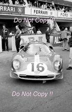 Maranello Concessionaires Ferrari 365 P2 Spyder Le Mans 1966 Photograph