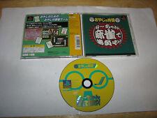 Oyaji no Jikan Neechan Mahjong de Shobu ya Playstation PS1 Japan import