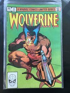 Wolverine #4 (1982, Marvel) VG Condition