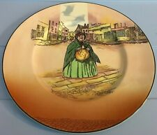 Vintage Royal Doulton Dickensware Sairey Gamp Decorative Plate Made In England