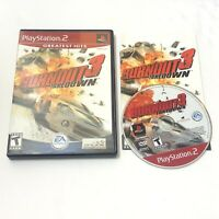 Burnout 3: Takedown (Sony PlayStation 2, 2004)- Complete