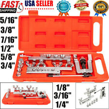 Hvac Flaring And Swaging Tool Kit Flares Od Soft Refrigeration Copper Tubing 45