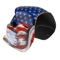 Energie Solaire Cagoule Masque de Soudure Auto-assombrissement Casque Protection