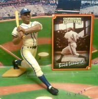 1998  BUCK LEONARD - Starting Lineup COOPERSTOWN Baseball Figure & Card - GRAYS