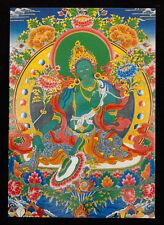 CARTE POSTALE GREEN TARA  NEPAL TIBET DEITE BOUDDHISTE 2760