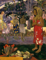 Dream-art Oil painting Paul Gauguin Tribute to Maria Madonna with Christ canvas