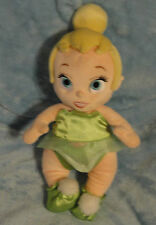 Disney Babies Plush Baby Tinkerbell NO Blanket NO Wings Stuffed Doll Toy