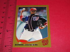 2013 TOPPS Edwin JACKSON #233 Mini Gold Variant #/62 NATIONALS-CARDINALS-CUBS