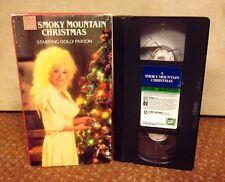 SMOKY MOUNTAIN CHRISTMAS Dolly Parton VHS Lee Majors & Henry Winkler 1986