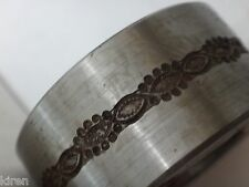 #18 L FLAT BRACELET BANGLE PATTERN DESIGN METAL ROLLING MILL SIDE ROLLER Durston