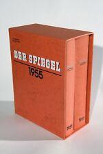 DER SPIEGEL - ORIGINAL -  Ganzer Jahrgang 1955 in 2 Bänden gebunden