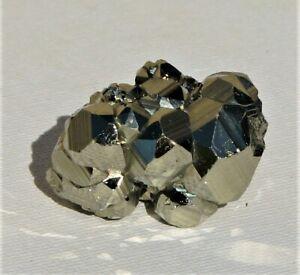Natural Pyrite Cube Cluster From Peru (P102)