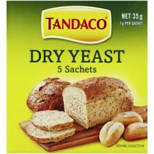 Tandaco Dry Yeast, Pack of 5 x 7g Sachets (9300681225350)