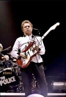 Andy Summers The Police Authentic signed rock 10X15 photo W/Cert Autographed B7
