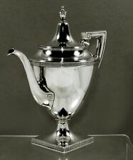 Gorham Sterling Coffee Pot               c1930 ETRUSCAN