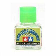 Tamiya 87182 Quick Setting Extra Thin Cement 40ml Bottle