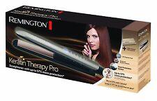 Remington Keratin Therapy Alisador De Pelo + Lujo Mat & Bolsa. Nuevo En Caja