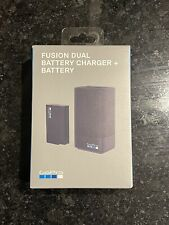 GoPro Fusion Dual Battery Charger + Battery ASDBC-001 Sealed NEW !!