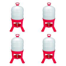 Little Giant Domewtr10 10 Gallon Tank Poultry Chicken Gravity Waterer 4 Pack