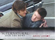 Supernatural Seasons 1-3 Winchester Brothers Chase Card J8 Sams Lesson