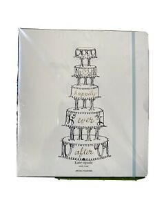 NIB KATE SPADE NY Wedding 5 Tier Cake Happily Ever After Bridal Planner