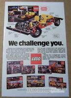 LEGO Expert Builder Series '80s PRINT AD building toys vtg advertisement 1980