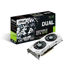 Schede video e grafiche ASUS NVIDIA GeForce GTX 1070 per prodotti informatici Interfaccia PCI