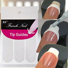 240 pcs New French Manicure Nail Art Tips Form Guide Sticker Polish DIY Stencil